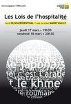 « Les Lois de l'hospitalité», d'Olivia Rosenthal (critique deMajaSaraczyńska), espace1789 à Saint-Ouen