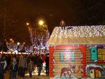 Premier marché de Noël sur les Champs Elysée - 2008