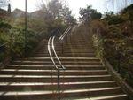 Les escaliers de la rue Eugène-Atget - 13e
