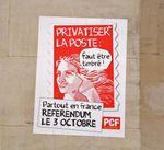 Un référendum non officiel pour la Poste