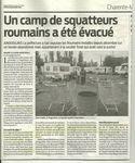 La Rochelle-Angoulins: l'expulsion du camp roumain ou la xénophobie d'Etat !