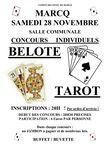 Marcq, soirée Tarot et Belotte le 28 novembre 2009