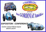Journée Amédée Gordini en novembre 2012