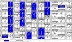 Calendrier 2008 - 2009 de la licence pro Packaging en alternance
