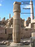 Architecture égyptienne : les colonnes et les ordres