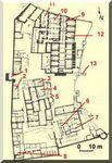 Aswan - Le monastère St-Siméon (Deir Anba Sim'an) : la terrasse haute