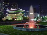 La porte Sungnyemun à Séoul détruite par un incendie criminel