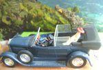 FIAT 525 N 1929 AMENAGEE POUR LE PAPE PIE XI 1/43