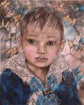 Tableau de Raphaëlle Zecchiero '' Le portrait D'Angello '' 1Mx81Cm