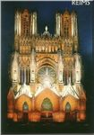 Reims:Cathedrale (CP) 51454