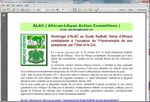 ALAC ( African-Libyan Action Committees )