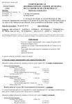 Compte rendu du conseil municipal du 13 février 2014