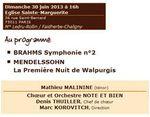 30 juin 2013 à Paris : concert au profit d'Handimachal