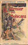Le dernier des mohicans par Fenimore Cooper, couverture par René Giffey