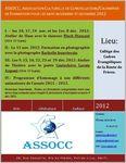 ASSOCC / FORMATION / nov. et déc. 2012