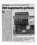 Ecole d'architecture - 180 logements prévus