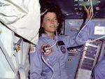 Sally Ride, paroles d'espoir, volonté