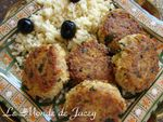 Thunfisch-Couscous-Bratlinge