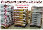 """Le compost nouveau est arrivé : ATTENTION à la provenance ! - """" Ecologie """" sans limite"""