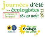Université d'été des écologistes ... à Clermont-Ferrand : un choix catastrophique - igepac