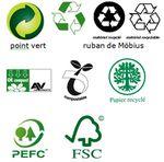 > Les logos utilisés pour le développement durable