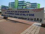 Rassemblement pour un plan URGENCE LOGEMENT dans le Val d'Oise