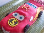 Flash McQueen ou le gâteau Cars…….la recette