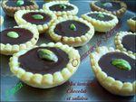 Minis tartelettes chocolat / caramel au beurre salé