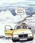 Gag : dur l'hiver !