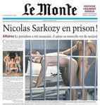 Nicolas Sarkozy censure un journal satirique