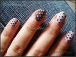 Nail Art : lilas et choco pour une manucure élégante de simplicité
