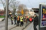 Images de la grève...