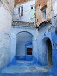 Détails de la vie quotidienne marocaine à Chefchaouen la belle au Maroc
