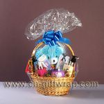 How to Use Shrink-wrap for Gift Baskets