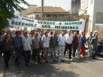 La police veut empêcher les rappelés de marcher vers Alger