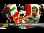 Does U.S. poll rule out fraud in Iran? + video (TheRealNews)