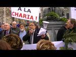 Les Belges dans la rue pour leur sapin de Noël, contre la charia et le parti Islam