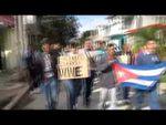 Opositores nombran Orlando Zapata a un parque de La Habana y son repudiados