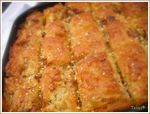 Baklawa ou baklava avec pâte filo