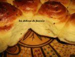 Serpentins de pain à la semoule
