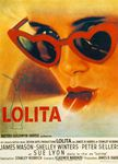 Lolita, the film directed by Stanley Kubrick (1963) starring James Mason