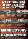 Manifestation antifasciste à Paris le 9 février.