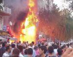 200 manifestants à Mantes-la-Jolie contre la répression anti-kurdes en Turquie