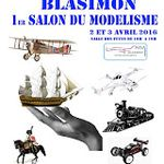 Salon aéromodélisme Blasimon 2-3 avril 2016
