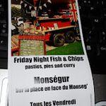 Chez Kate's Kitchen fish and chips du vendredi à Monségur!
