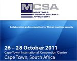 "DCNS, ""platinum sponsor"" du salon Maritime and Coastal Security Africa 2011"