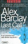 Last Call - Alex Barclay