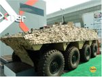 Nexter VBCI at IDEX 2011