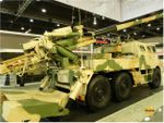 IDEX 2011 NORINCO unveiled a new truck mounted self-propelled artillery system SH1