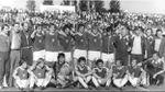 Jugando al fútbol con el equipo de la temida Stasi, la policía secreta alemana
